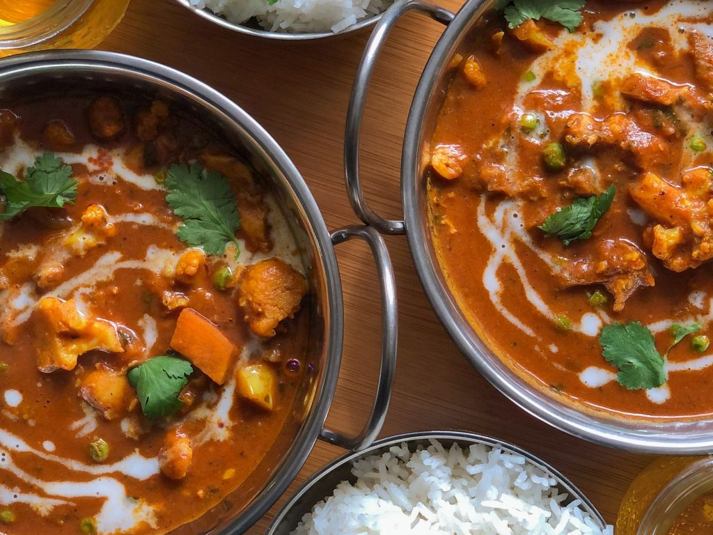 Blumenkohl Curry mit Kokoswürzpaste