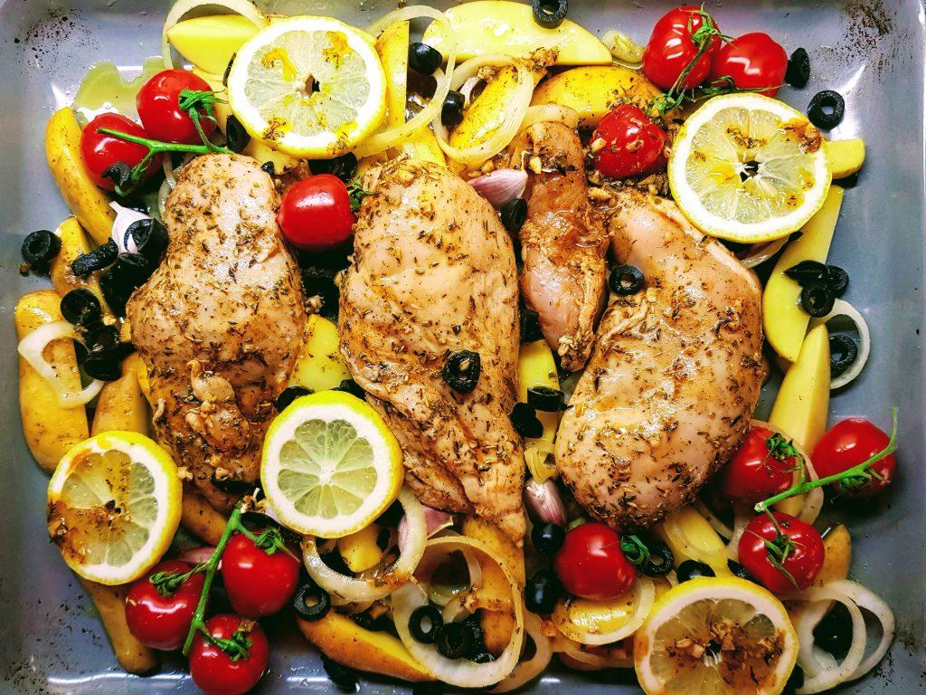 Zitronen Huhn