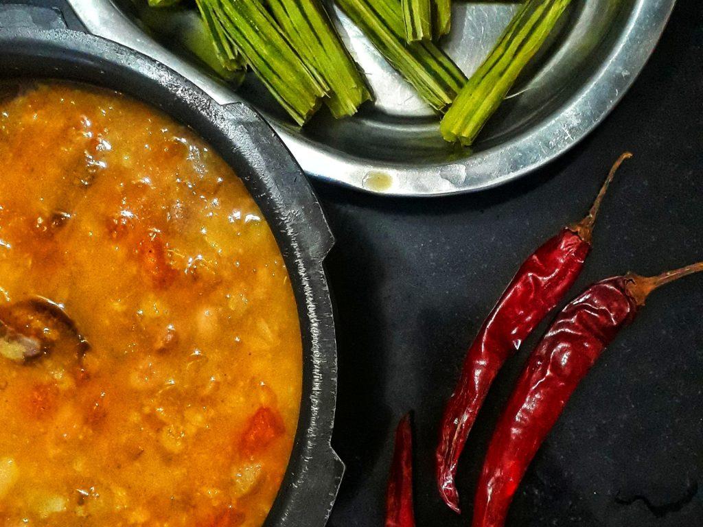 Kichererbsen Curry mit Tomaten