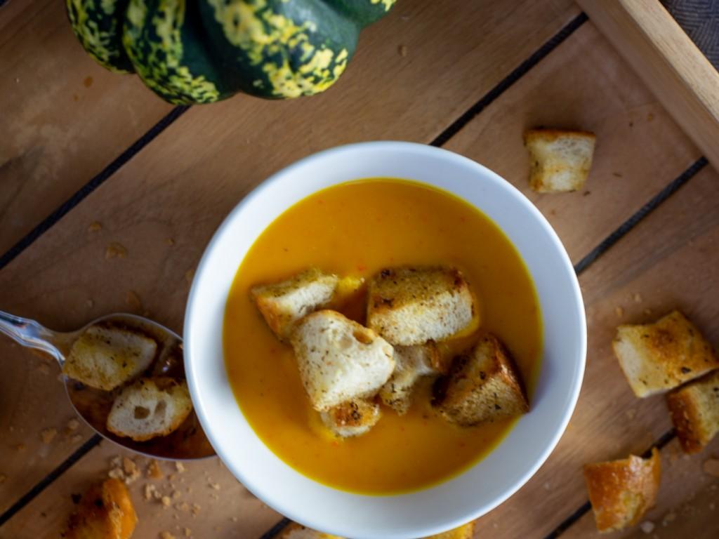 Karotten-Kürbis Süppchen