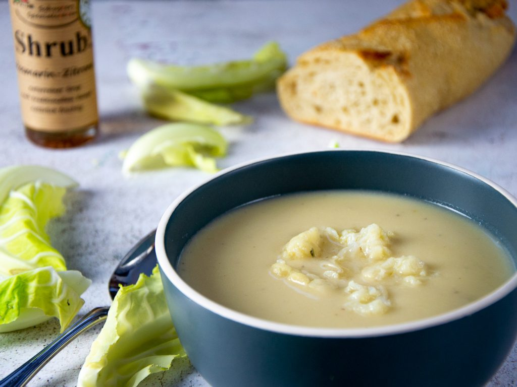 Blumenkohl-Gorgonzola Suppe