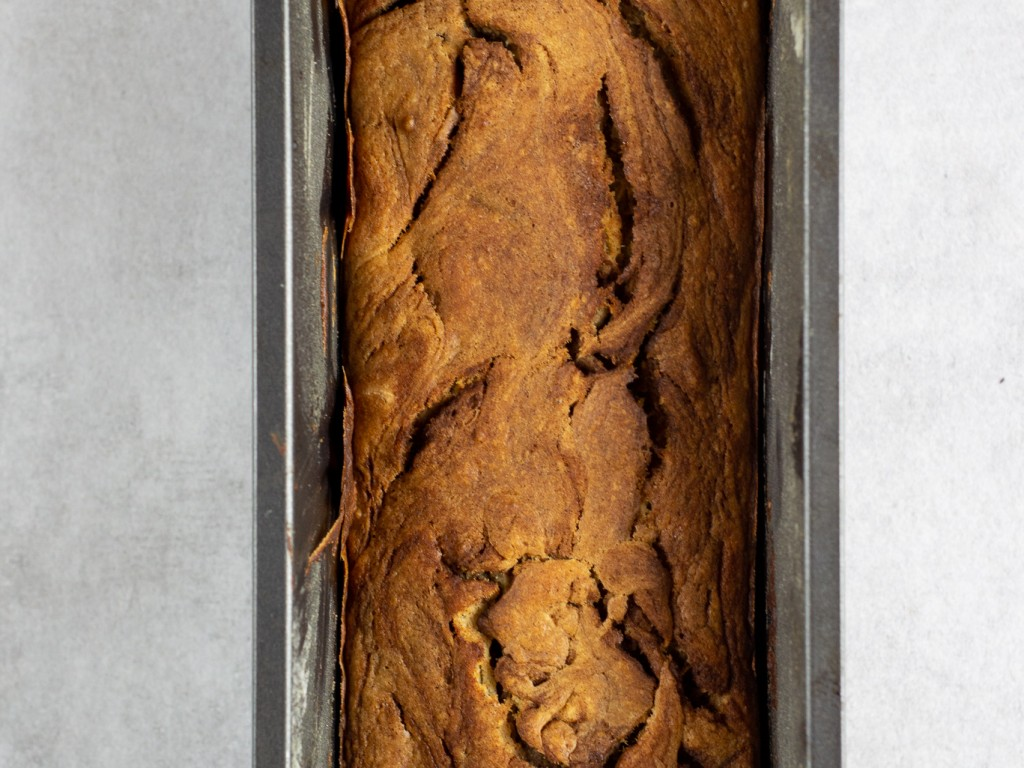Apfelmus-Zimt Brot