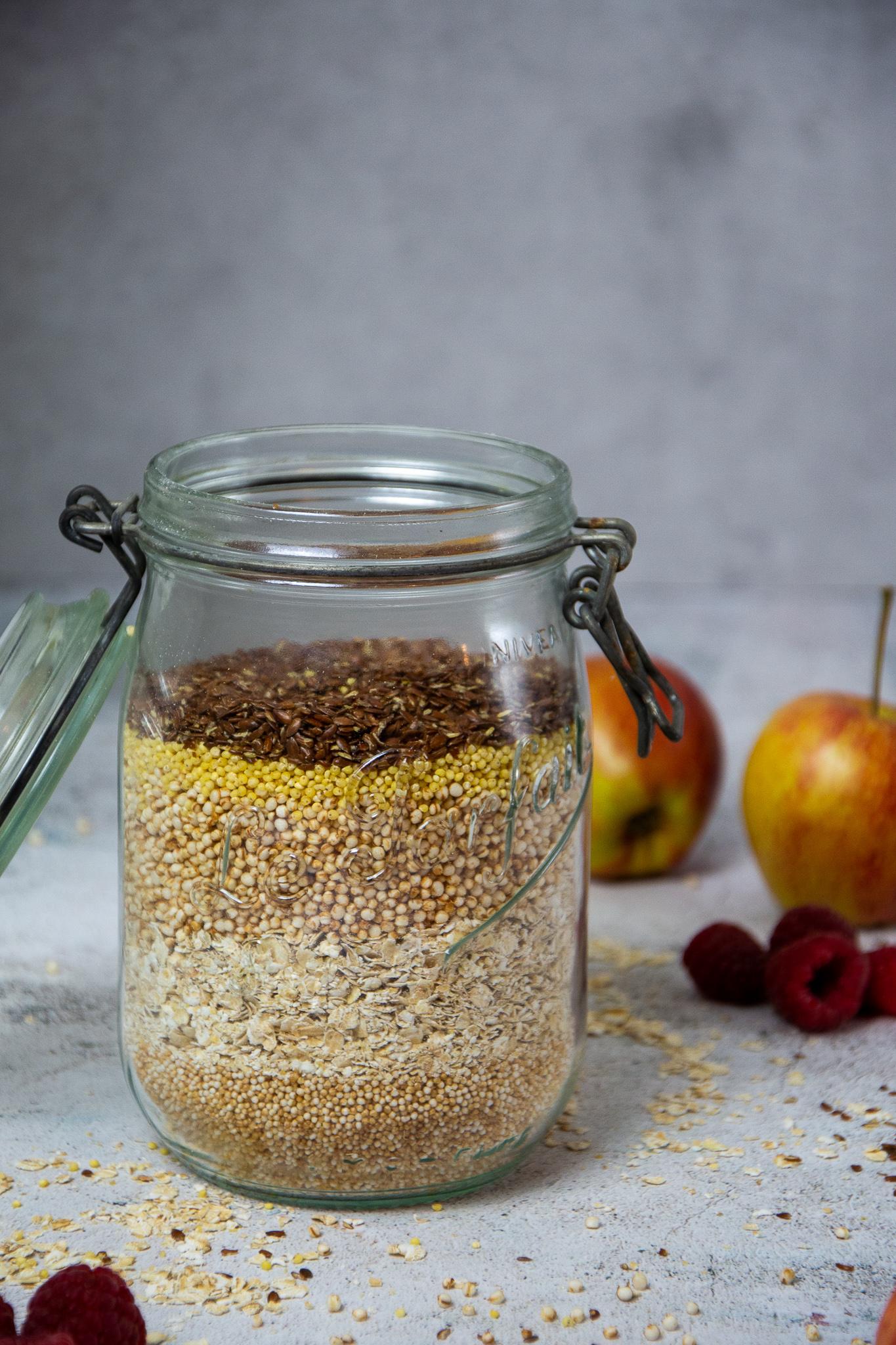Protein-Müsli für das gesunde Frühstück