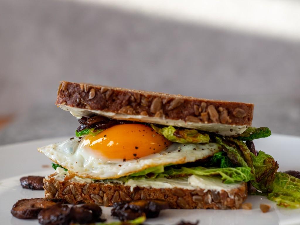 Wirsing-Pilz Sandwich